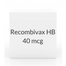 Recombivax HB 40 mcg/ml Suspension (1ml Vial)