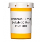 Remeron 15 mg Soltab (30 Unit Doses ODT)