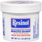 Resinol Medicated Ointment Jar for Skin Irritations - 3.30 oz