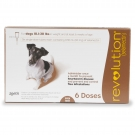Revolution (For Dogs 10.1 - 20 lbs) - 6 Month Pack(Brown)