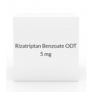 Rizatriptan Benzoate ODT 5mg Tablets (Generic Maxalt MLT) - 9 Tablet Pack