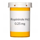 Ropinirole Hcl 0.25mg Tablets