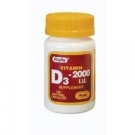 Vitamin D3 (2000 IU) - 100 Softgels