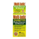 Multi-betic Diabetes Multivitamin Multimineral Supplement - 60 Tablets