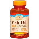Sundown Naturals Fish Oil 1000mg - 60 Softgels