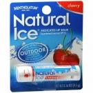 Natural Ice Lip Balm Cherry SPF 15 Mentholatum - 0.15 oz tube