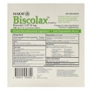 Biscolax Laxative (Bisacodyl 10mg) Suppositories - 100 Count Box