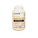 Major Aspirin 325mg Enteric Coated Tablets 1000ct