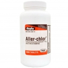 Aller-chlor 4mg Tablets (non-prescription) - 1000ct