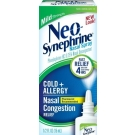 Neo-Synephrine Cold & Sinus Mild Strength 0.25% Nasal Decongestant Spray - 0.5 fl oz