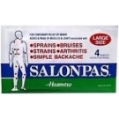 Salonpas Patch Large 4/Pk