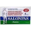 Salonpas Patch Large 4/Pk