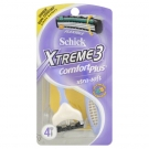 Schick Xtreme 3 Comfort Plus Razors Women - 4 Pack