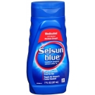 Selsun Blue Dandruff Shampoo Medicated - 7oz