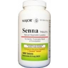 Major Senna-Lax 8.6mg Tablets - 1000ct