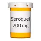 Seroquel 200mg Tablets
