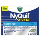Vicks Nyquil Severe Cold & Flu Caplets- 12ct