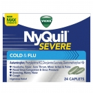 Vicks Nyquil Severe Cold & Flu Caplets- 24ct