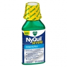 Vicks Nyquil Severe Cold & Flu Liquid, Original Flavor- 12oz