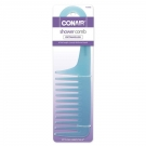 Conair® Styling Essentials Icy Pastel Shower Comb (Color May Vary) 3 pack