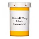 Sildenafil 20mg Tablets (Greenstone)