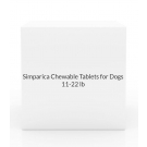Simparica Trio Chewable Tablets for Dogs- 11-22lbs (Caramel Box) 6 Count