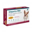 Simparica Trio 2.8-5.5 lbs Chew Tab, 6 Count