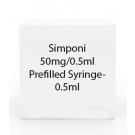 Simponi 50mg/0.5ml Prefilled Syringe-  0.5ml