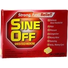 Sine Off Sinus/Cold Medicine Caplets - 24 Count Box