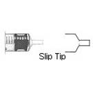 BD Syringe Slip Tip Graduated 5ml - 125ct