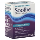 Soothe Lubricant Eye Drops, Preservative Free (Single Dose Packaging)- 28ct
