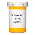 Sotalol AF 160mg Tablets