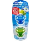Steripod Toothbrush Sanitizers, Assorted Colors- 2pk