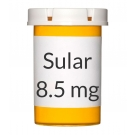 Sular 8.5mg Tablets***MANUFACTURING ISSUES. NO ESTIMATED RESTOCKING DATE PROVIDED***
