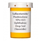 Sulfacetamide/Prednisolone 10-0.23% Ophthalmic Drop 5ml (Vasocidin)