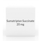 Sumatriptan Succinate 20 mg UNIT DOSE Nasal Spray - 6 Bottle Pack (Prasco)