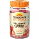Sundown Naturals Melatonin 5mg Gummies Strawberry - 60ct
