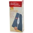 Sunbeam Heating Pad Standard Size 12 Inches x 15 Inches