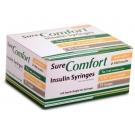 SureComfort Insulin Syringe 31 Gauge, 1cc, 5/16