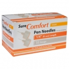 SureComfort Pen Needle 32 Gauge, 1/4