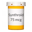 Synthroid 75mcg Tablets