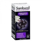 Sambucol Black Elderberry Cold and Flu Relief Syrup, Original Formula- 4oz