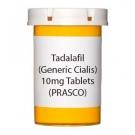 Tadalafil (Generic Cialis) 10mg Tablets (PRASCO)