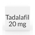 Tadalafil (Generic Cialis) 20mg Tablets (PRASCO)