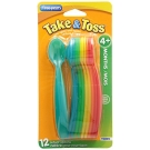The First Years Take & Toss Infant Spoons, 12ct