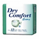 TENA Dry Comfort Briefs, Large- 6 Bags of 12
