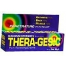 Thera-Gesic Cream 3oz****OTC DISCONTINUED 2/28/14