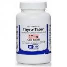 Thyro-Tabs (Levothyroxine)  0.7mg