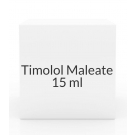 Timolol Maleate 0.5% Ophthalmic Solution - 15 ml Bottle