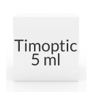 Timoptic (Timolol Maleate) 0.5% Ophthalmic Solution- 5ml